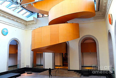 Photograph - In The Art Gallery Of Ontario by Nina Silver