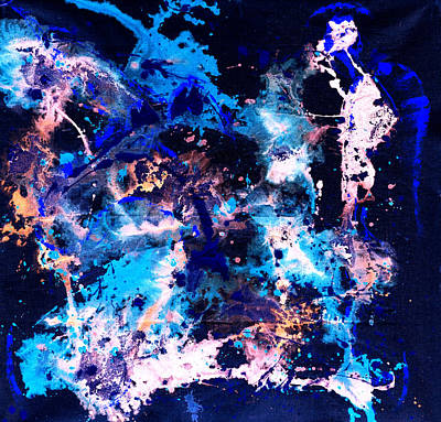 Mixed Media - In The Beginning 4 by Giorgio Tuscani