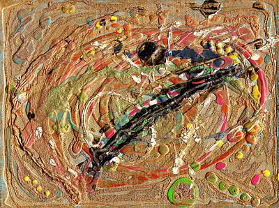 Painting - In The Beginning by Strangefire Art       Scylla Liscombe