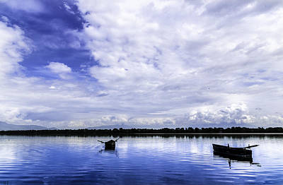 Photograph - In The Blue. by Slavica Koceva