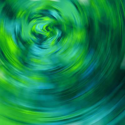 Abstrat Digital Art - In The Bottle by Steve K