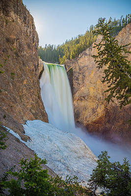 Yellowstone Wall Art - Photograph - In The Canyon by Kristopher Schoenleber