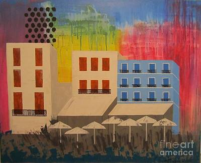 Painting - In The City by Christal Kaple Art