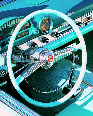 Featured Images Photograph - In The Cockpit Palm Springs by William Dey