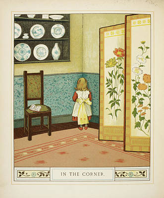 In The Corner Art Print by British Library