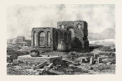 In The Desert Between Assoitan And Philae Art Print