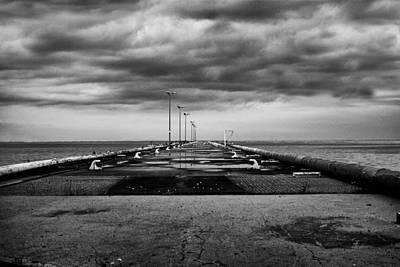 Horizon Line Digital Art - In The Distance by Jack Zulli