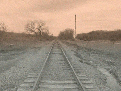 Photograph - In The Distance - Surreal by Rhonda Barrett