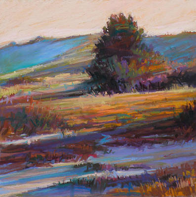Wall Art - Painting - In The Dunes by Ed Chesnovitch