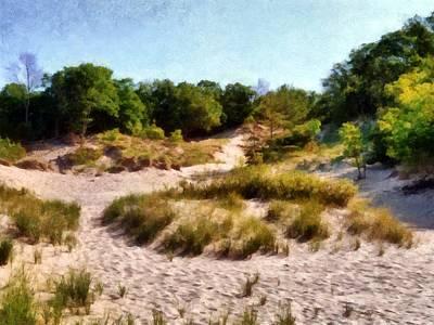 Enjoyment Digital Art - In The Dunes by Michelle Calkins