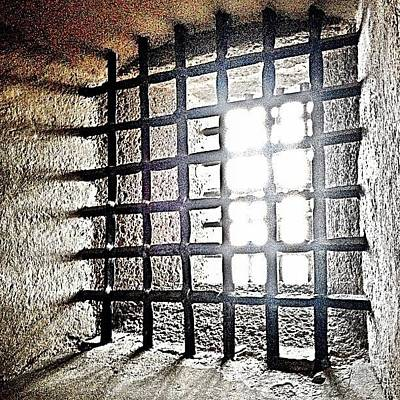 Dungeon Photograph - In The Dungeon #castle #dungeon #travel by Emily Hames