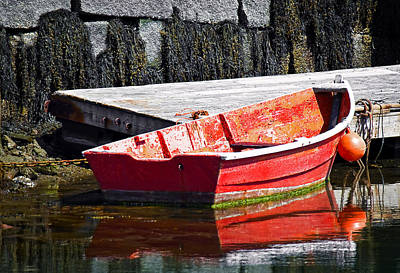 Dinghy Photograph - In The Early Hours by Marcia Colelli