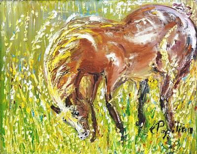 In The Field Art Print by Evelina Popilian