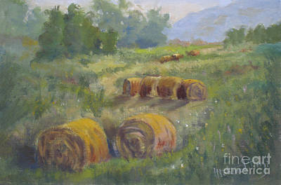 Fineartamerica.com Painting - In The Field by Mohamed Hirji
