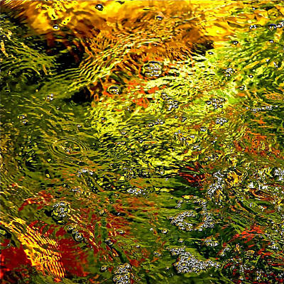 In The Flow 1 Art Print by Michael Durst