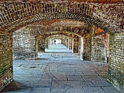 Photograph - In The Fort Arches by Alice Gipson