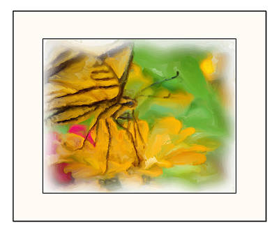 In The Garden Art Print by Kelly Gibson