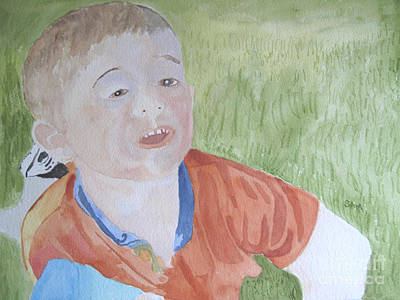 Painting - In The Grass by Sandy McIntire