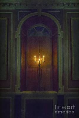Candle Stand Photograph - In The Great Hall by Margie Hurwich