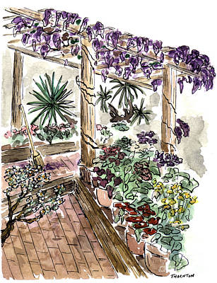 In The Greenhouse Art Print