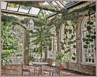 In The Greenhouse Art Print by Elin Mastrangelo