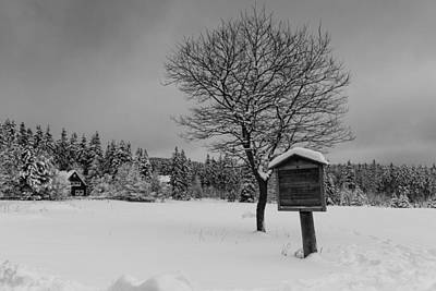 Photograph - winter in the Harz National Park by Andreas Levi