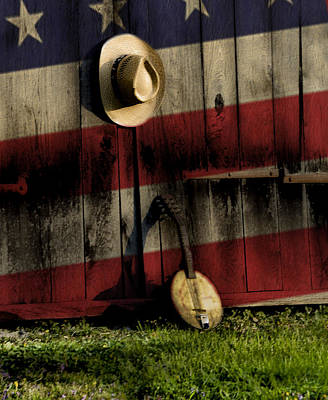 Cowboy Hat Photograph - In The Heart Of America by Bill Cannon