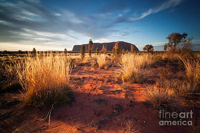 Uluru Photograph - In The Heart Of Oz by Matteo Colombo