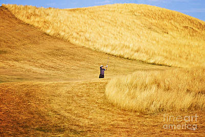 In The Hills Art Print by Scott Pellegrin