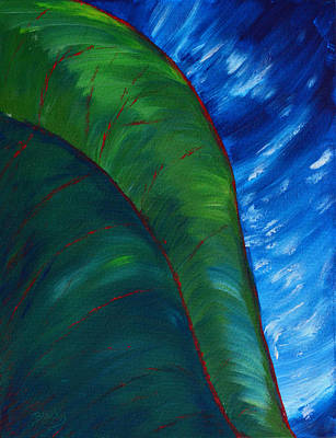 Painting - In The Jungle by Donna Blackhall