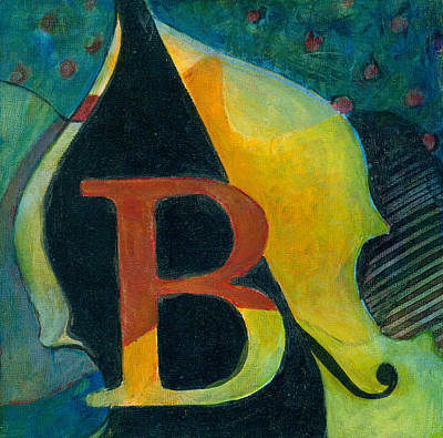 Painting - In The Key Of B by Susanne Clark