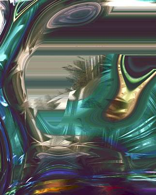 Disability Digital Art - In The Land Of The Blind The One Eyed Man Is King by Richard Thomas