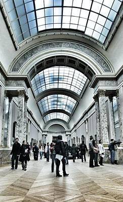 Photograph - In The Louvre  by Marianna Mills