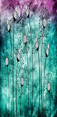 Free Mixed Media - In The Meadow 2 by Angelina Vick