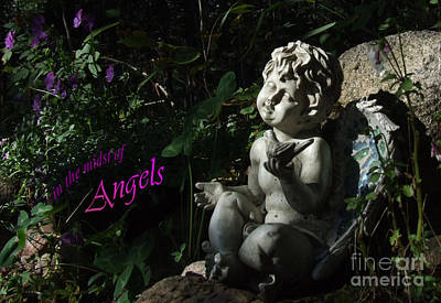 in the midst of Angels Art Print