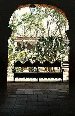 Photograph - In The Mission Of San Juan Capistrano by Marilyn Wilson