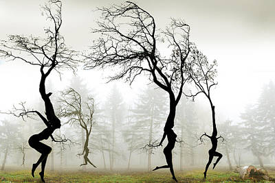 Digital Art - In The Mist by Igor Zenin