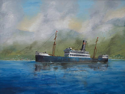 Art Print featuring the painting In The Mists Of Martinique by Christopher Jenkins