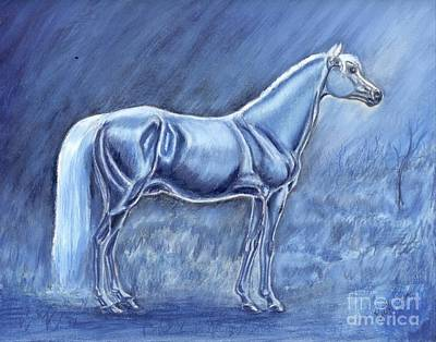 In The Misty Moonlight Art Print by Ruth Seal