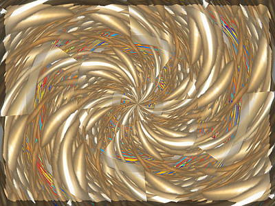 Digital Art - In The Mix by Tim Allen