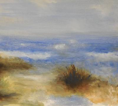 Incoming Tide Painting - In The Moment by Gary Snyder