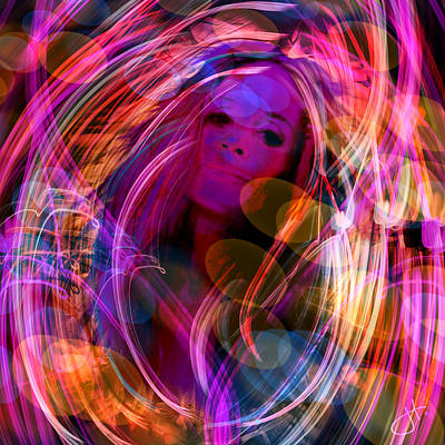 Digital Art - In The Mood by Jason Hanson