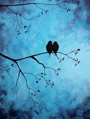 In The Moon Light Art Print by Lynsie Petig