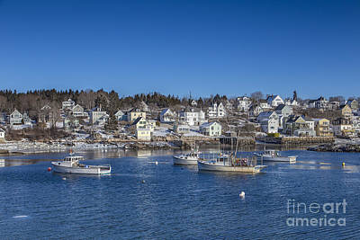 New England Village Photograph - In The Morning Light by Evelina Kremsdorf
