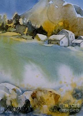 Painting - In The Mountains by Donna Acheson-Juillet