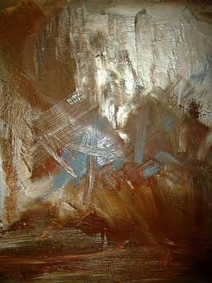 Textured Painting - In The Mountains by Karen Lillard