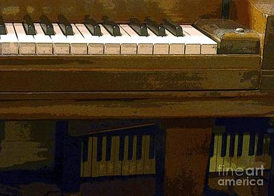 Steinway Grand Piano Wall Art - Photograph - In The Music Room by Barbie Corbett-Newmin