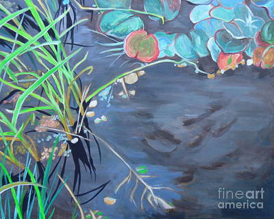 Painting - In The Pond by Sandra Yuen MacKay