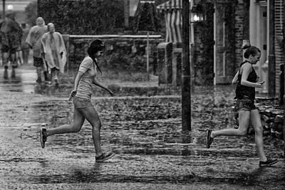 Photograph - In The Rain by Nicholas Evans