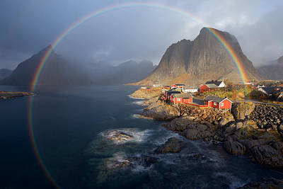 Norway Wall Art - Photograph - In The Rainbow by Nicolas Schneider
